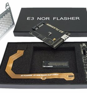 Е3 NOR Flasher dual boot для PS3
