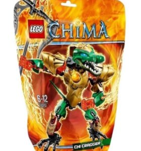 LEGO Legends of Chima 70207 ЧИ Краггер б/у
