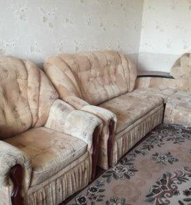 Мягкая мебель, диван кресло