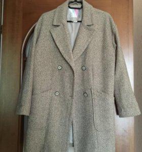 Пальто свободного кроя
