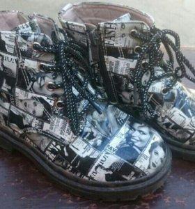 Ботинки для девочки.