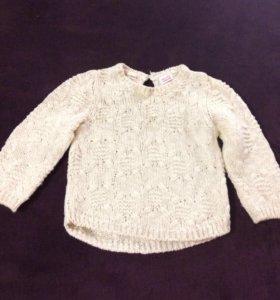 Красивый свитерок для девочки