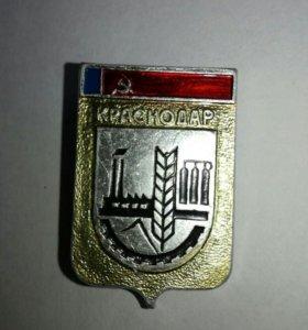 Значок СССР (оригинал).