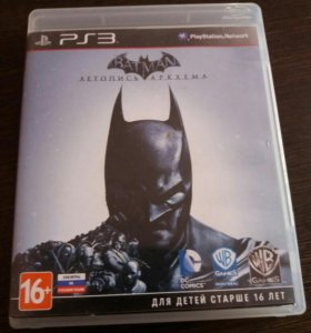 Batman летопись аркхема ps3