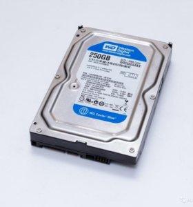 Жесткие диски в ассортименте - SATA, IDE (PATA)