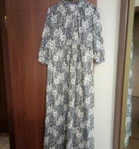 Платье для беременных и кормящих, 50 размер