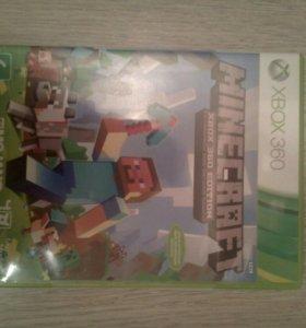 Игра Minecraft на XBOX360