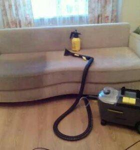 Химчистка мягкой мебели, ковров, ковралина