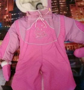 Куртка комбинезон 750руб.куртка на девочку 7-8лет