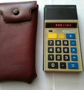 Калькулятор электроника бз 23