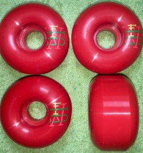 Новые колёса Footwork Wheels Red 53мм х 31мм 100A