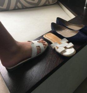 2 пары обуви пакетом 36р-р