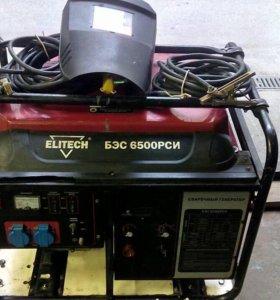 Бензиновый сварочный электрогенератор