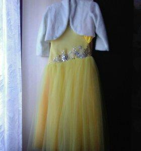 Бальное платье с болеро