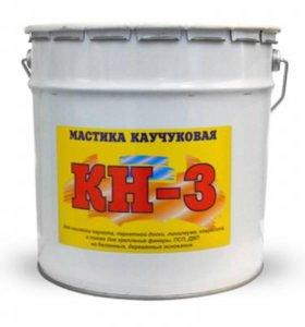 Мастика каучуковая КН-3 22 кг