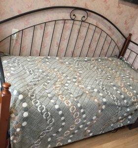 Кровать+ матрас