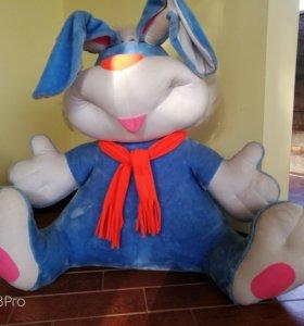 Огромный заяц-мягкая игрушка