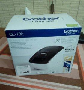 Brother QL-700 принтер этикеток (подлинный брат)