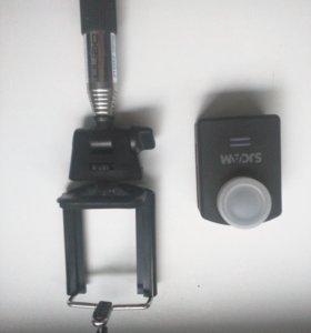 Экшн камера Sjcam m20 + монопод.