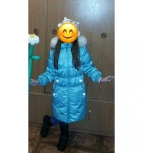 Куртка на девочку, разм 134