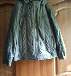 Мужская осенняя куртка размер 54-56