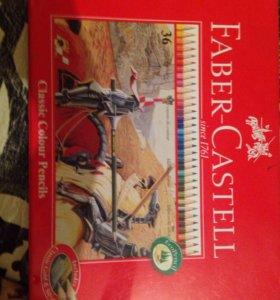 Оригинальные карандаши Faber-Castell