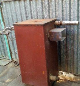 Чугунный газовый напольный котел