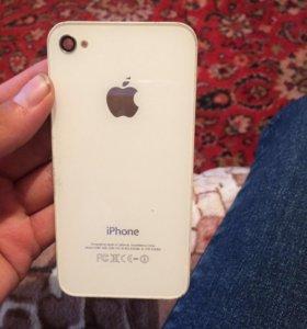 Задняя крышка для айфона4