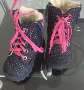 Зимние ботинки котофей 20 размер