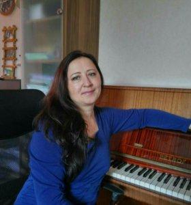 Обучение игры на фортепиано, помощь по сольфеджио