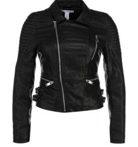Кожаная куртка NLY оригинал