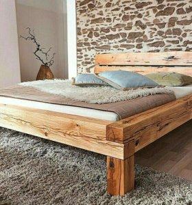 Кровати из дерева на заказ