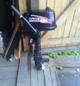 Лодочьный мотор 5лс