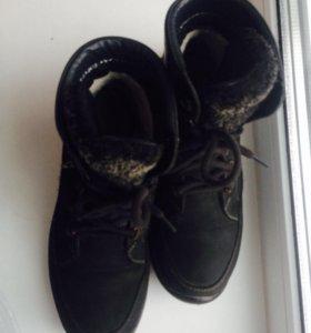 Зимние ботинки 36 р-р