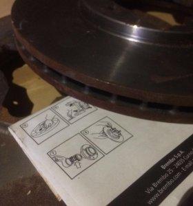 Вентилируемые тормозные диски для Honda Accord