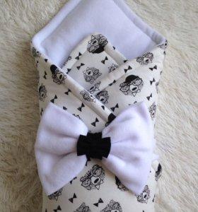 Зима Одеяло-конверт для маленького джентельмена