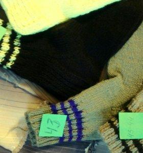Носки ручной вязки