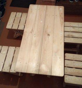 Набор деревянный летний