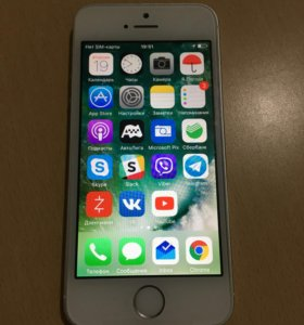 Продам iPhone 5S 16GB (белый)