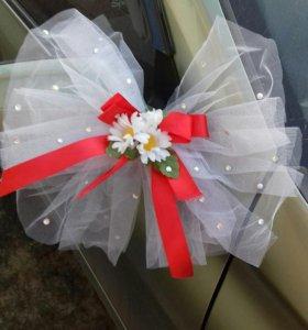 Свадебные украшения на машину и не только