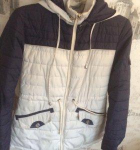 куртка, совсем новая, на осень