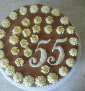 Домашний Киевский торт (по ГОСТу)