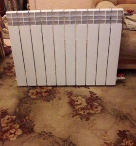 Радиатор новый биметаллический