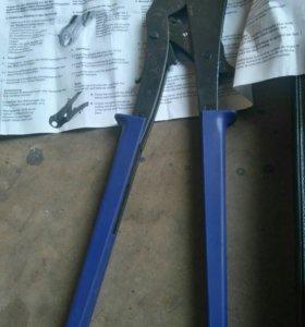 Ножницы для труб метолопласта и пресс