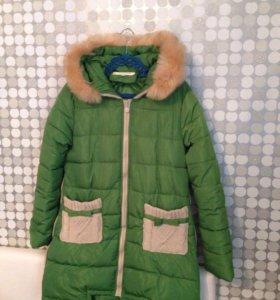 Пальто зимнее, пуховик