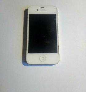 iPhone 4 8gb White ростест