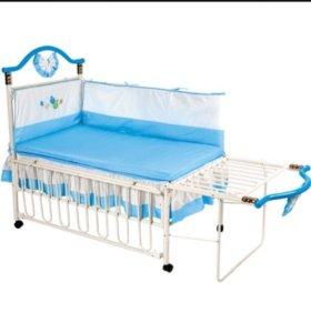 Кроватка детская GEOBY TLY632
