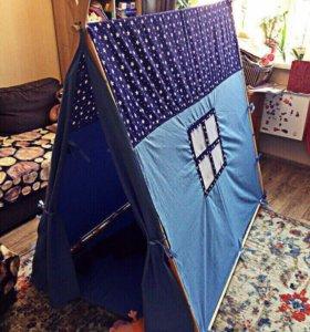 Яркий просторный домик для детей. Скучно не будет.
