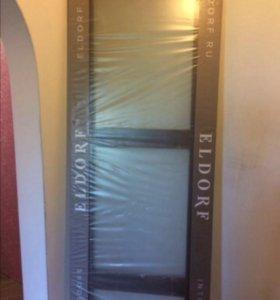 Новая дверь купе ELDORF ( с матовыми стёклами)