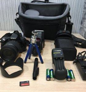 Цифровой фотоаппарат Sony SLT-A55V .